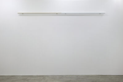 Liam Gillick, 'Restrained Roundrail (White)', 2012