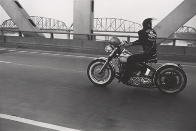 Danny Lyon, 'Crossing the Ohio River, Louisville', 1966