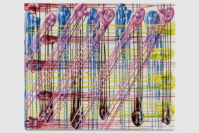 Kenny Scharf, 'Plaidee Melt', 2017