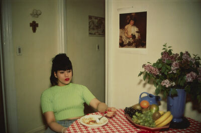 Nan Goldin, 'Gina at Bruce's dinner party, NYC', 1991