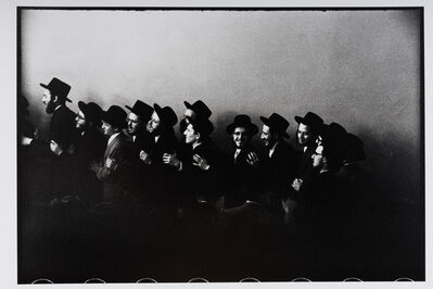 Leonard Freed, 'Williamsburg, NY - Jewish Hassidic Wedding', 1954