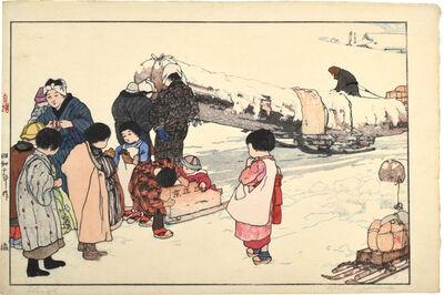 Yoshida Hiroshi, 'Sleigh', 1927