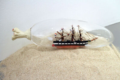 Nobuaki Takekawa, 'Ship in a Sea Cucumber', 2013
