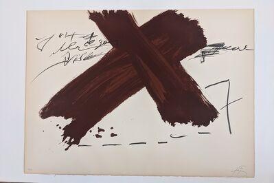 Antoni Tàpies, 'Berlin Suite', 20th Century
