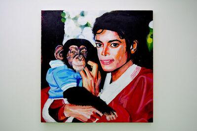 Huey Crowley, 'Michael Jackson and Bubbles', 2018