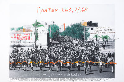 Marcelo Brodsky, 'From the series 1968: The fire of Ideas, Montevideo, 1968', 2014-2019