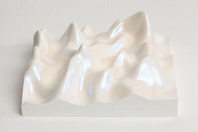 Peter Saville, 'Unknown Pleasure, Irodin 219, Rutile lilac pearl on white background', 2015