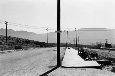 Lee Friedlander, 'Lee Avenue, Butte, Montana'