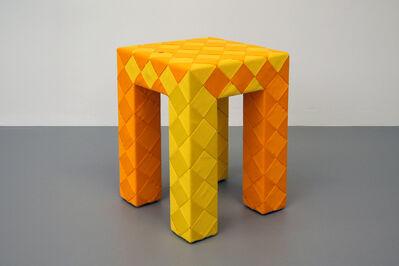 Lex Pott, 'Checkered Stool', 2016