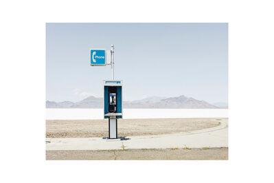 "Josef Hoflehner, '""Payphone"" Bonneville, Utah'"