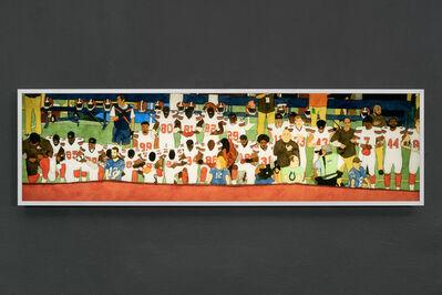 Kota Ezawa, 'National Anthem (Cleveland Browns)', 2019