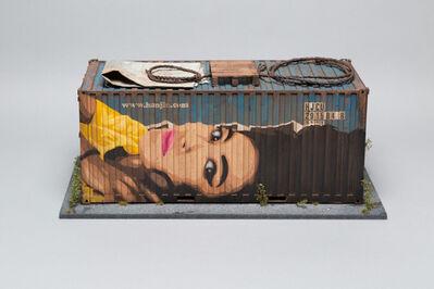 Joshua Smith, 'Hanjin Shipping Container (based on Honk Kong docks)', 2016