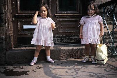 Meryl Meisler, 'Pink Twins', ca. 1983