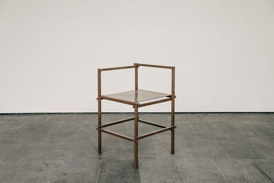 Frida Escobedo, 'Copper Chair', 2018
