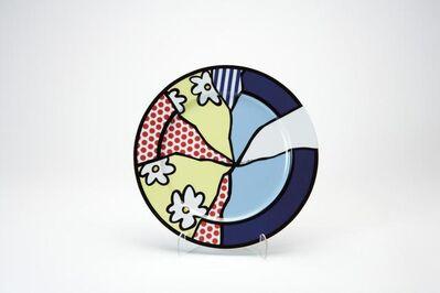 Roy Lichtenstein, 'Rosenthal plate 2', 2000