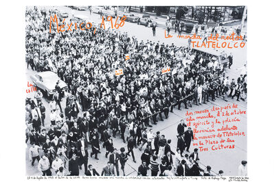 Marcelo Brodsky, 'From the series 1968: The fire of Ideas, Marcha del Rector, México, 1968', 2014-2019