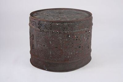 Chuck Phillips, 'Folk Art Steel Drum Table', ca. 1960