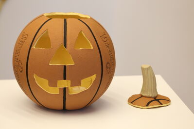 Matt Johnson, 'Basketball Jack O' Lantern', 2015