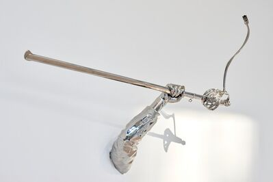 Hank Willis Thomas, 'Justice, Peace, Work (Stolen Sword Punctum)', 2019