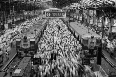 Sebastião Salgado, 'Church gate station, Mumbai, India, 1995', 2021
