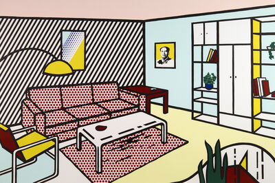 Roy Lichtenstein, 'Modern Room', 1990