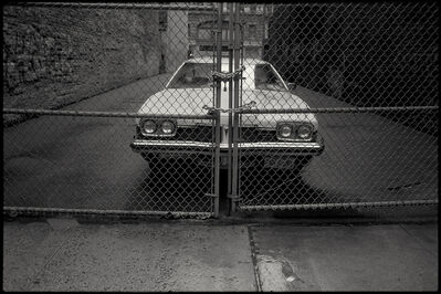 Dan Winters, 'White Car', 1988