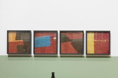 Yto Barrada, 'Untitled (felt circus flooring, Tangier)', 2013-2015