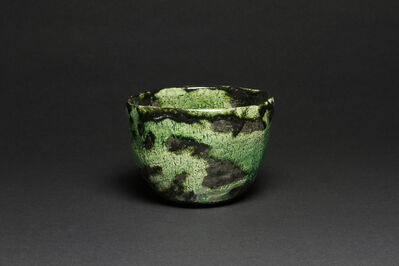 Ohi Toshio, 'Ōhi Black Tea Bowl with Copper Glaze', 2014