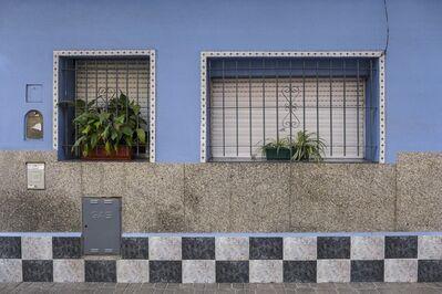 Facundo de Zuviría, 'Dos ventanas y damero, San Cristóbal', 2019