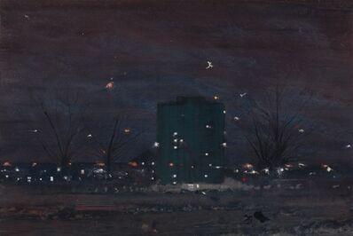Jock McFadyen, 'London Fields', 2017