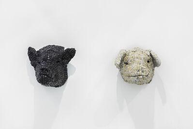 Maurice Mbikayi, 'Cochon Negrè + Cochon Blanc', 2019