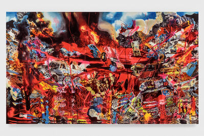Rosson Crow, 'Volcanic Eruption At The Junk Yard', 2019