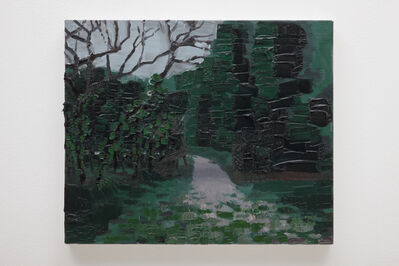 Rodrigo Andrade, 'Walking pass at the park', 2014