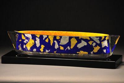 John Lewis, 'Blue Confetti Steamer Vessel', 2009