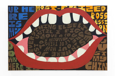 Kellen Chasuk, '…and it all sits on the tip of my tongue', 2019