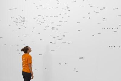 Nicolas Consuegra, 'Cartografía textual', 2009