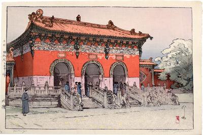 Yoshida Hiroshi, 'Beiling Mausoleum, Liaoning, China [Hokuryo]', 1937