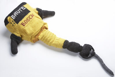Theresa Honeywell, 'Hand Knit Jackhammer', 2012