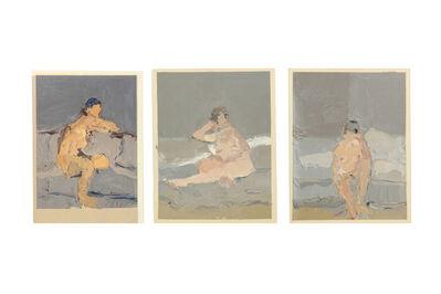 Bernard Myers, 'Three nudes each'