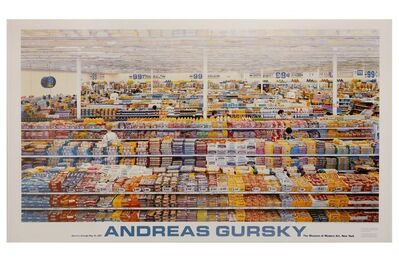 Andreas Gursky, '99 Cents - MoMA Edition', 1999