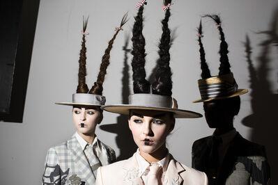 Landon Nordeman, 'Thom Browne (Hats and Hair)', 2016