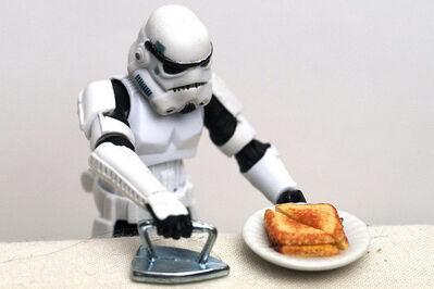 Santlov, 'Grilled Cheese Trooper', 2013