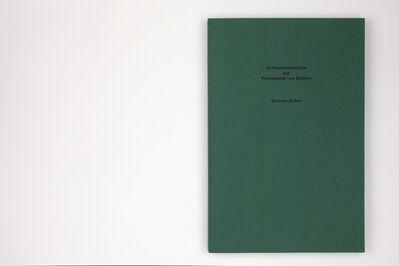 Thomas Huber (b.1955), 'Die Post ', 1990