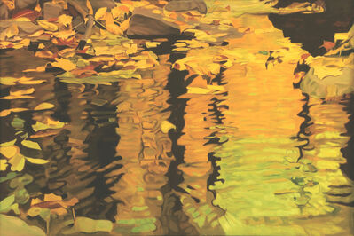 Ralph Wickiser, 'Yellow Reflection', 1981
