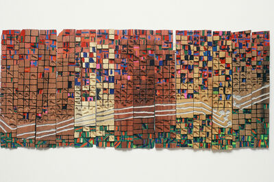 El Anatsui, 'Communication Lines in 1004 Flats', 2002