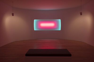 James Turrell, 'Dissolve (Curved Wide Class)', 2017