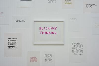 Tim Etchells, 'Installation View (Personal Statements Series)', 2015