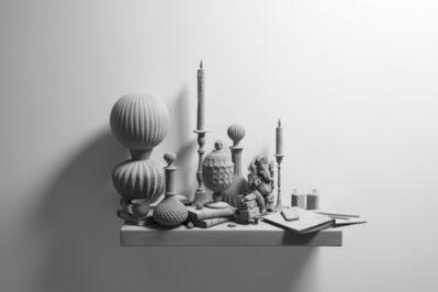 Hans Op de Beeck, ''Still Life (wall piece) (2)'', 2019