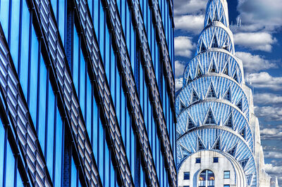 Mitchell Funk, 'Chrysler Building Abstraction', 2019