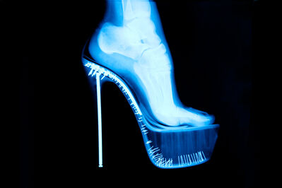 Tyler Shields, 'X-RAY High Heel', 2012